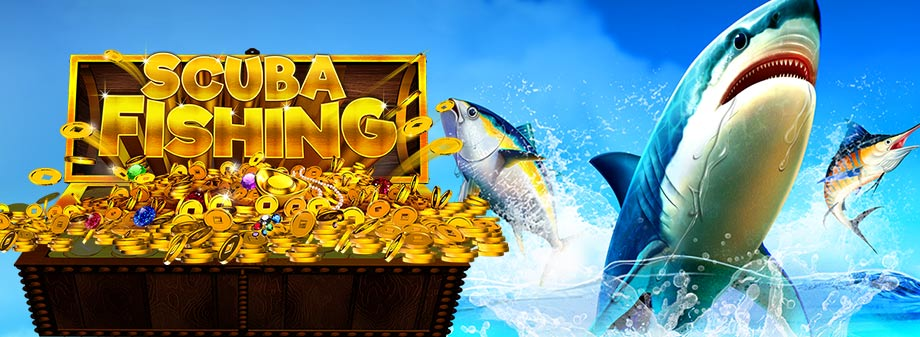 Scuba Fishing RTG Online Slot
