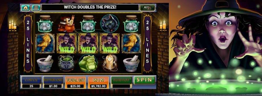 Witch's Brew Slot Game