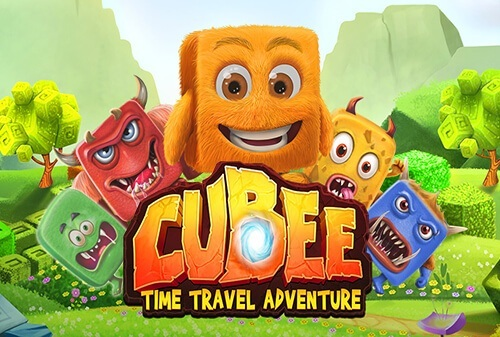 The CUBEE Time Travel Adventure Slot doesn't have reels or paylines! Instead, you level up through different eras in search of a 50,000x Jackpot on your total wager!